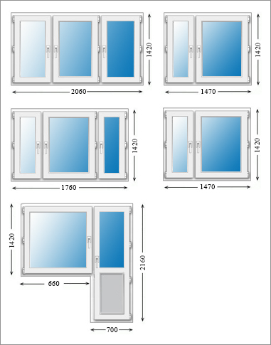 Окна и двери пластиковые расчет стоимости