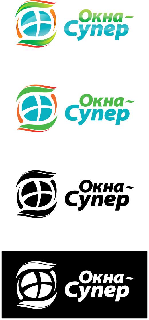 """Создание логотипа для компании """"Окна ...: www.oknaplan.ru/portfolio/91/8410"""